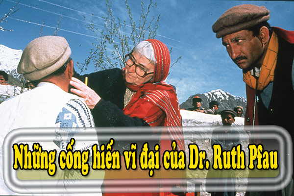 Những cống hiến vĩ đại của Dr. Ruth Pfau dành cho Pakistan