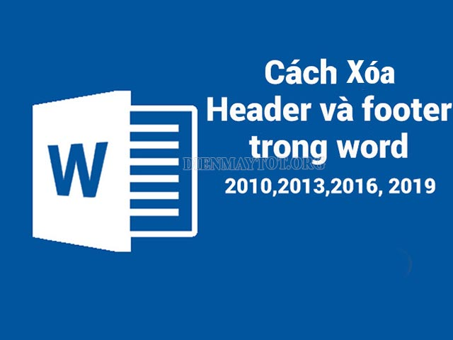 bỏ header and footer trong word