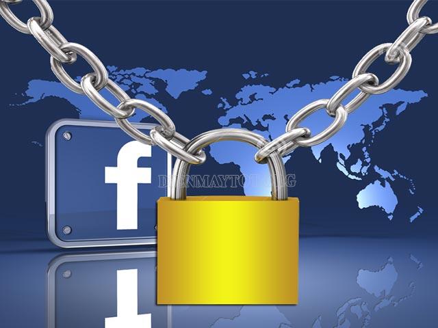 cách khóa facebook tạm thời trên iphone